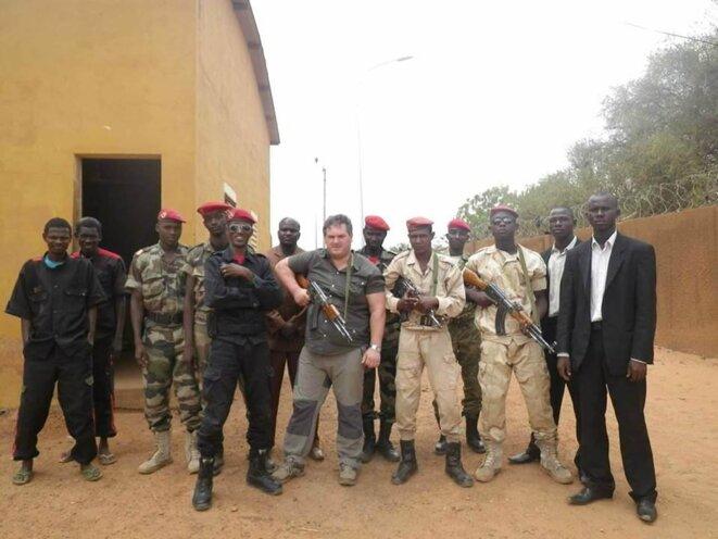 Le Français Christophe Raineteau au Niger (photo non datée). © DR