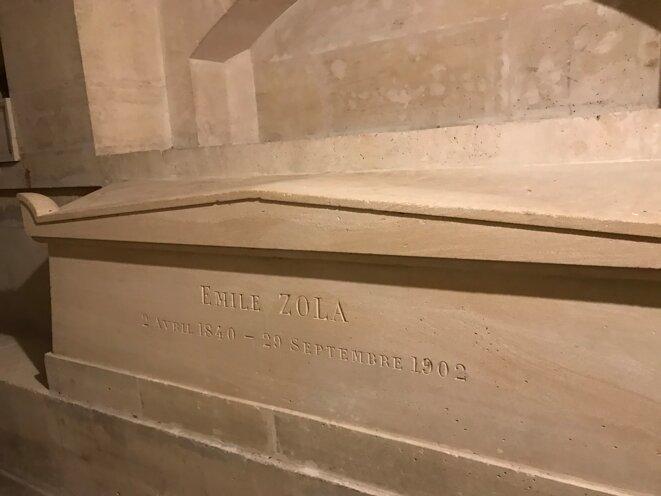 Tombeau de Zola au Panthéon [Ph. YF]