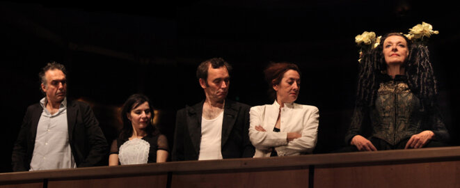 """Scène de """"Italienne scène et orchestre"""" © Marie Clauzade"""
