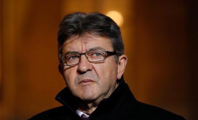 Jean-Luc Mélenchon, le 21 novembre 2017 © Reuters