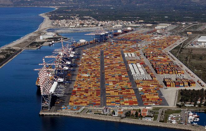 The port of Gioia Tauro. © Reuters