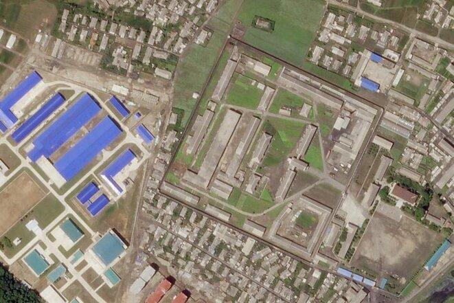 L'usine de Hamhung, l'un des principaux sites nord-coréens de fabrication de missiles, a été agrandi en mai et en juin 2018. © Planet Labs Inc/Handout via REUTERS