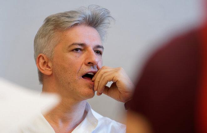 Róbert Alföldi, metteur en scène hongrois. © Csaba Mészáros / Átrium