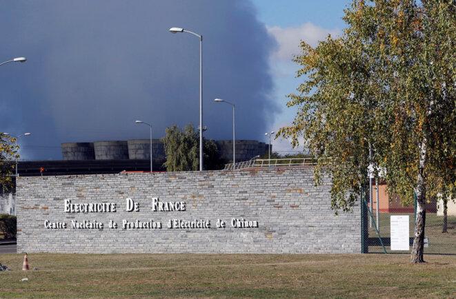 La centrale de Chinon, où de nombreux dysfonctionnements ont été relevés. © Reuters