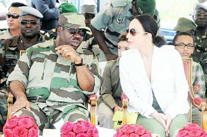 Ali et Sylvia Bongo les dirigeants de la junte militaro-familiale qui sévit au Gabon