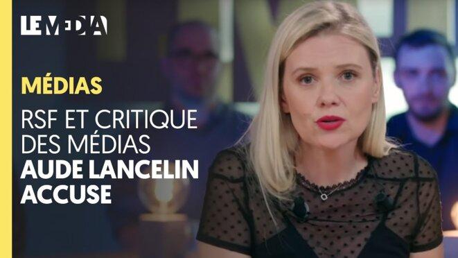 La journaliste Aude Lancelin a été élue à la tête de la rédaction. © Capture d'écran