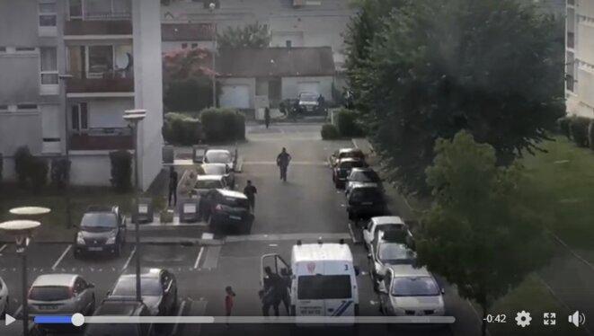 Capture d'écran vidéo CNews.