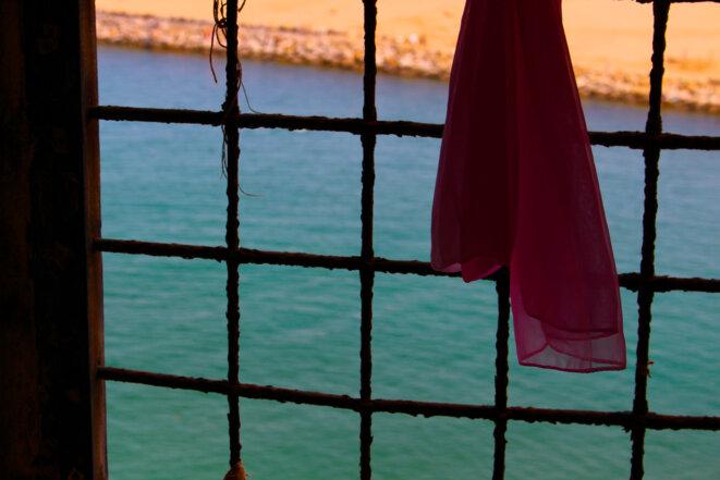 Vue Plage de Salé - Maroc © M. M.