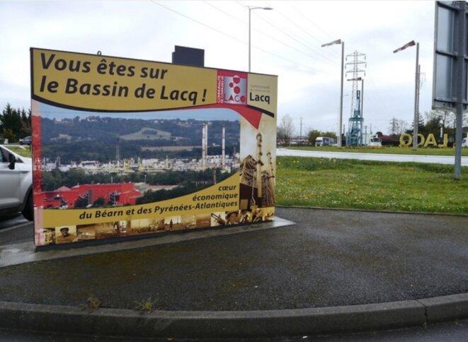 À Lacq, dans les Pyrénées-Atlantiques, en avril 2016 (JL).