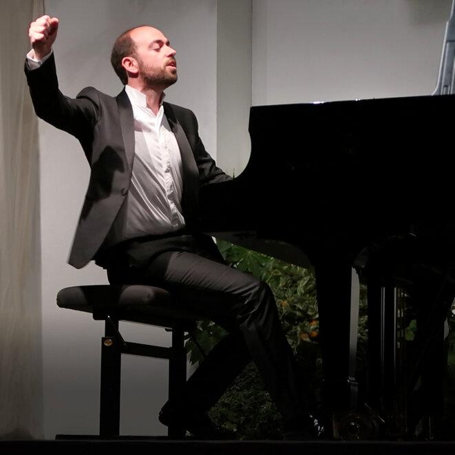 François Dumont à Bagatelle, le 3 juillet 2018