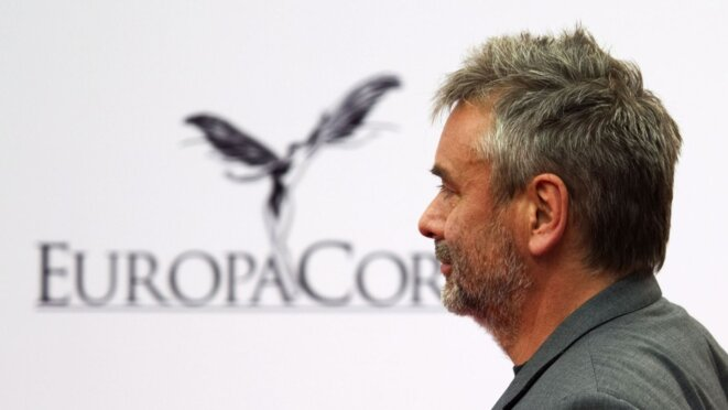 Boss of EuropaCorp: Luc Besson. © Reuters