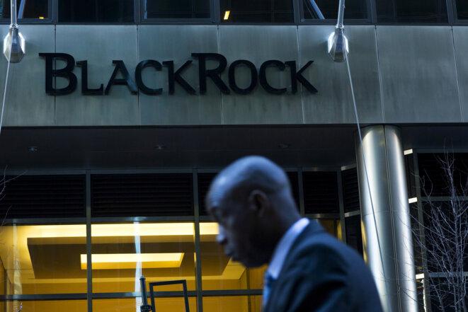 Le siège londonien de BlackRock. © Reuters