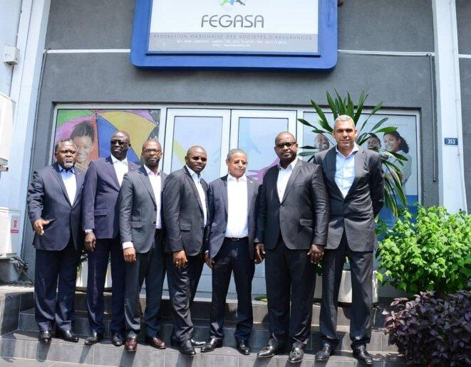 Photo de famille- Les membres de la FEGASA