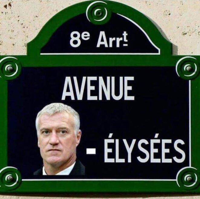 Avenue DESCHAMPS-Elysées... © X