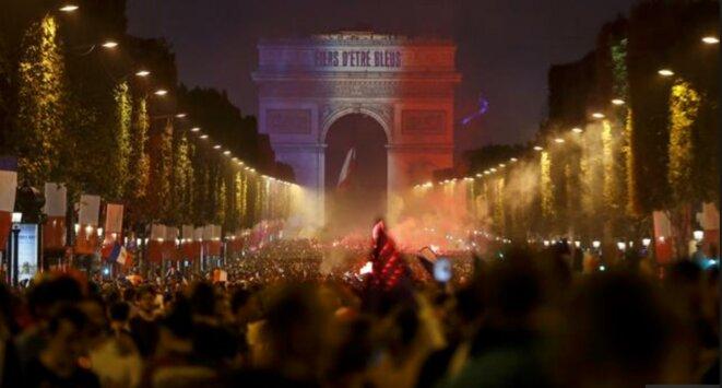 Paris après la victoire © Inconnu