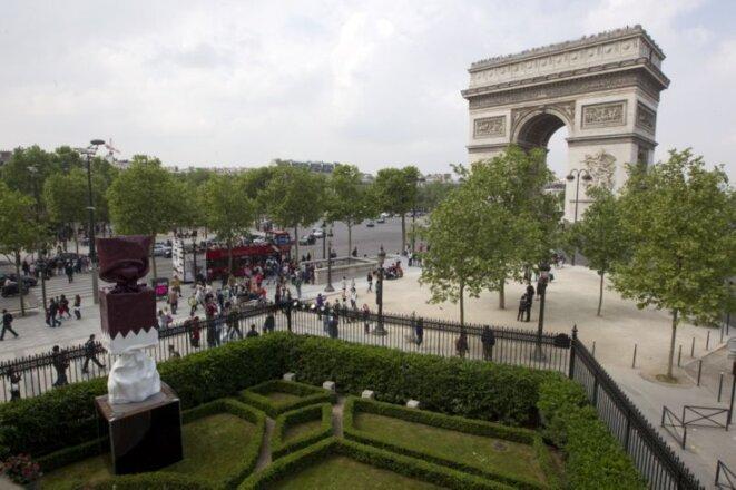 Place de l'étoile à Paris © X