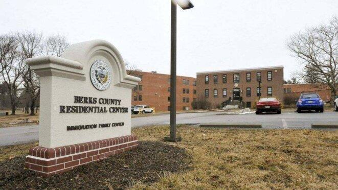 Le centre de détention pour familles de Berks, à Reading, Pennsylvanie © Reading Eagle