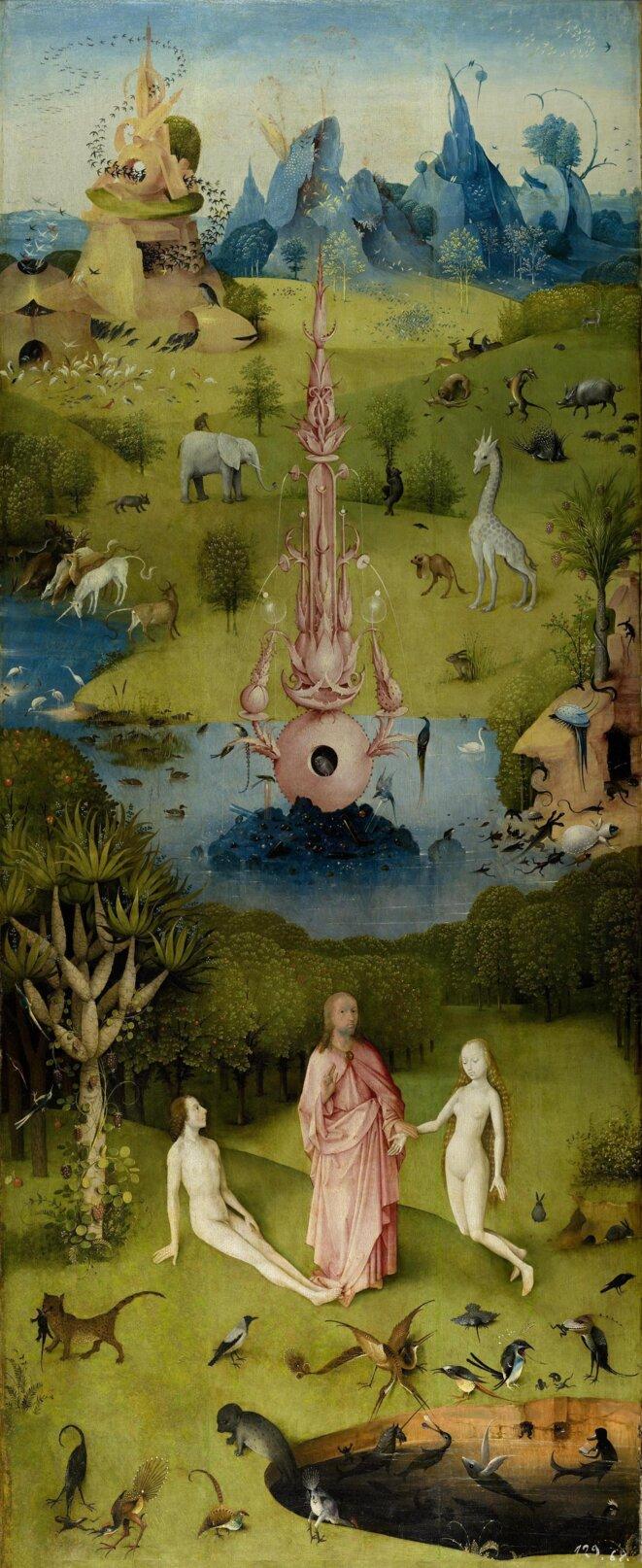 Jérôme Bosch, Le jardin des délices (vers 1500)