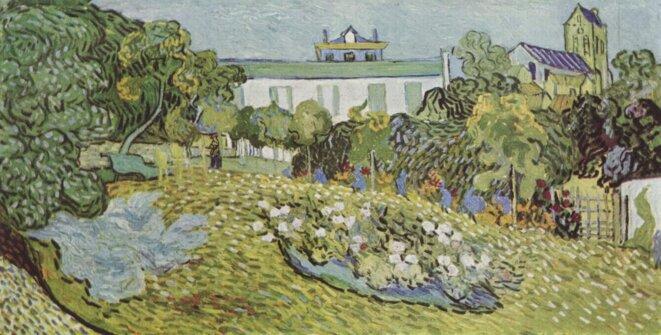 Vincent Van Gogh, Le jardin de Daubigny (juillet 1890)