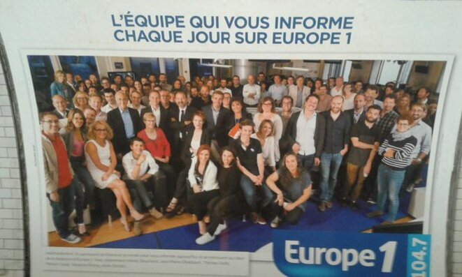 archives de salariés chez Europe 1
