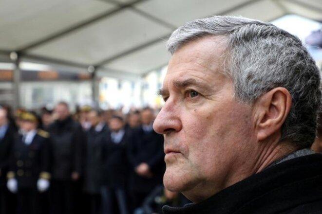 Patrick Strzoda, le directeur de cabinet d'Emmanuel Macron. © Reuters