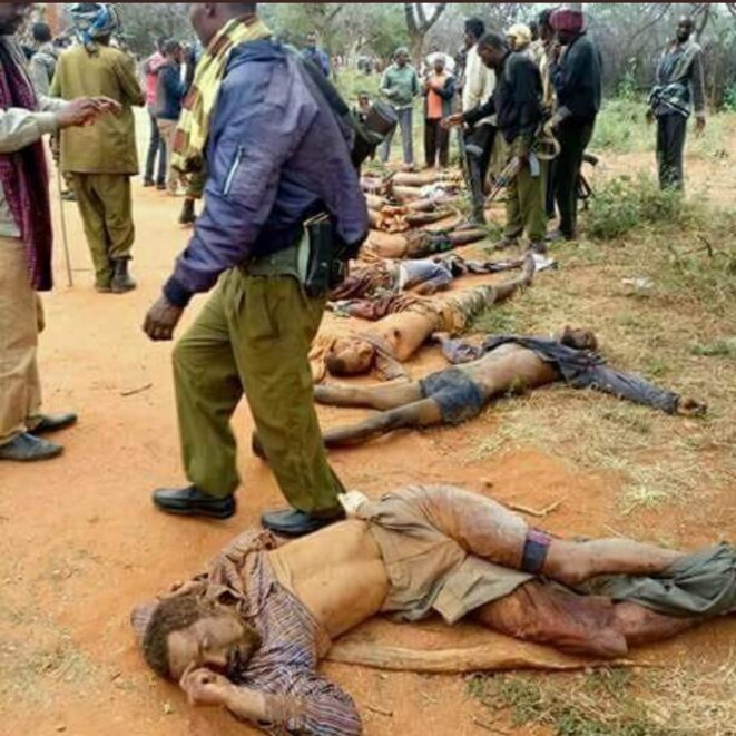 Somali Massacres at Moyale, Ethiopia -July 11, 2018 © Inconnu