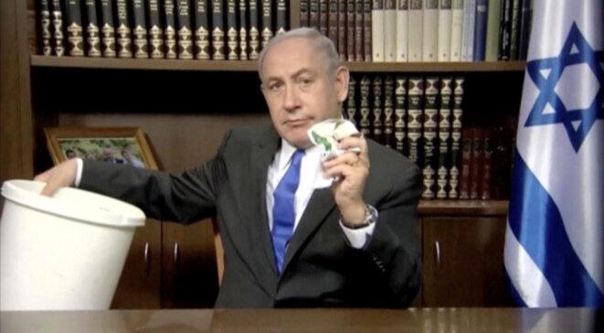 Le premier ministre israélien Benjamin Netanyahou en mars 2018 © Reuters