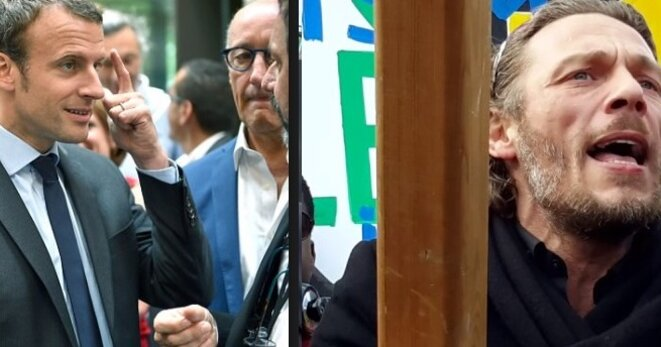 Thierry Paul Valette , Benallagate , Emmanuel Macron