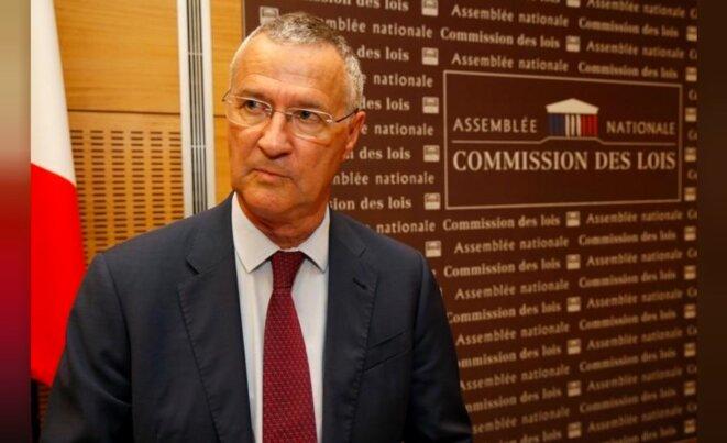 Patrick Strzoda à l'Assemblée mardi. © Reuters