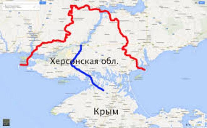 Canal du Dniepr en Crimée © Slovodel.com