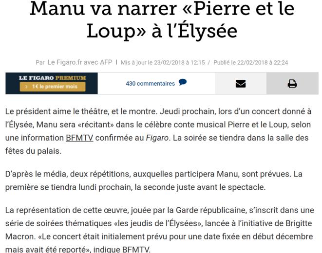 http://www.lefigaro.fr/flash-actu/2018/02/22/97001-20180222FILWWW00419-emmanuel-macron-jouera-dans-pierre-et-le-loup-a-l8217elysee.php