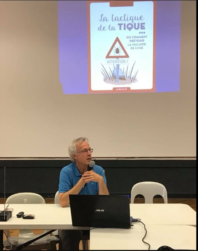 Dr Medynski, à Auch, le 24 juin [Photo YF]