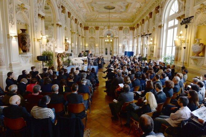 4e Rencontres nationales du logement et de l'habitat, Hôtel de ville d'Avignon, novembre 2014 © Rnlh
