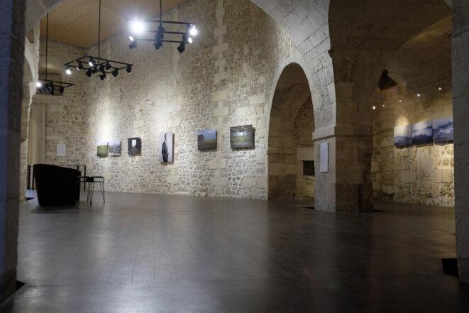 """Exposition """"Le portrait, le paysage et le citoyen"""" labellisée Cop21, en commissariat avec Catherine Rebois, La Rochelle, octobre 2015 © Le.sas-culture"""