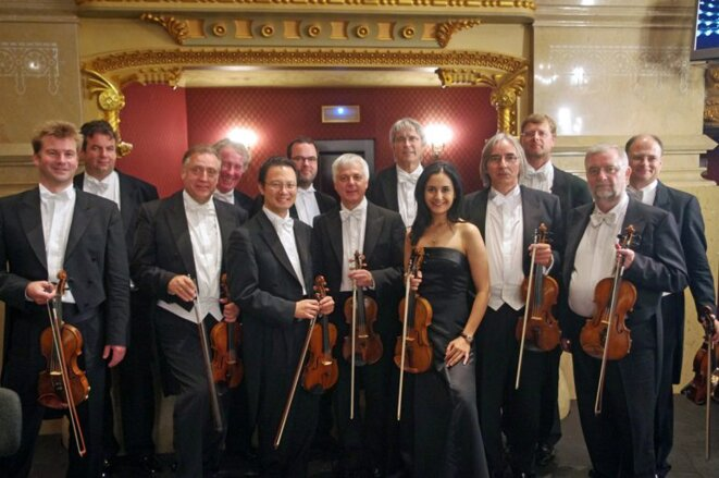 L'orchestre de l'Opéra de Berlin © ww.VH.ma