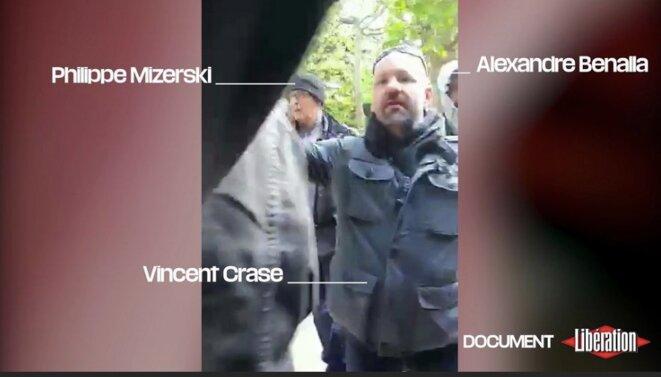 Capture vidéo © « Libération »