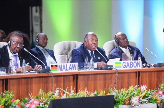 JOHANNESBURG – 10ème Sommet des BRICS : ALI BONGO ONDIMBA (Gabon)