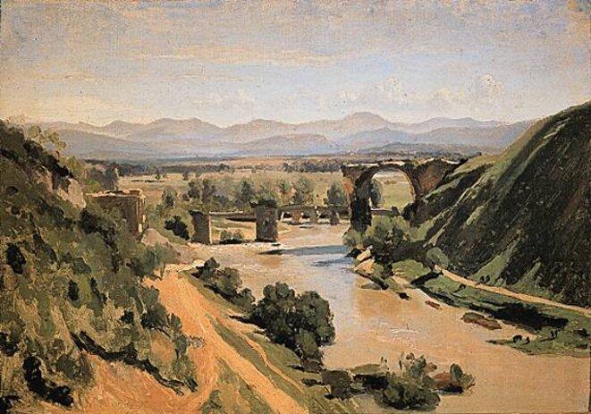 Pont de Narni © Camille Corot -1826
