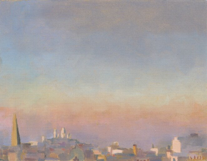 Vue de Montmartre © Virginie Isbell - 2014