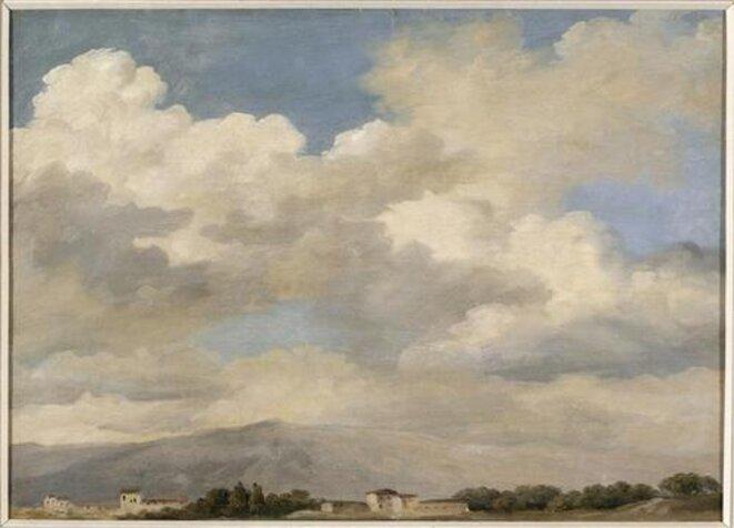 Etude de ciel au Quirinal © Pierre Henri de Valenciennes
