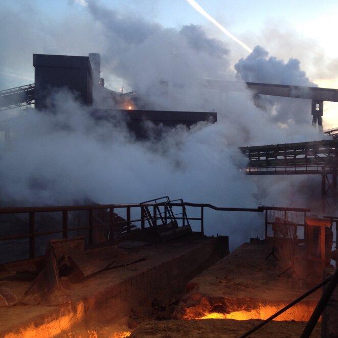 L'usine ArcelorMIttal de Dunkerque. © DR
