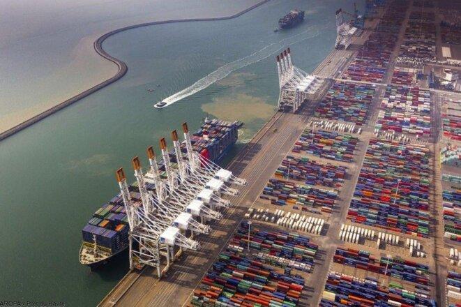 Terminaux à Port 2000. © CMA CGM