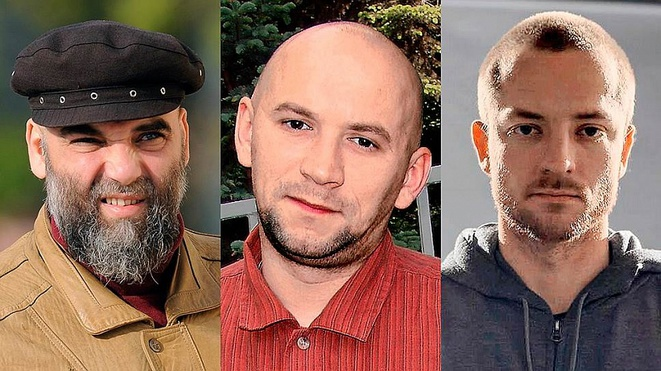 Orhan Djemal, Alexandre Rastorguev, Kirill Radchenko © Facebook
