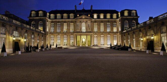 Le Palais de l'Élysée. © Reuters