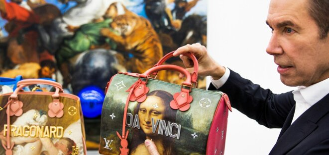 """""""La Joconde"""" et d'autres grandes oeuvres trivialisées par Koons-Vuitton-Arnault"""