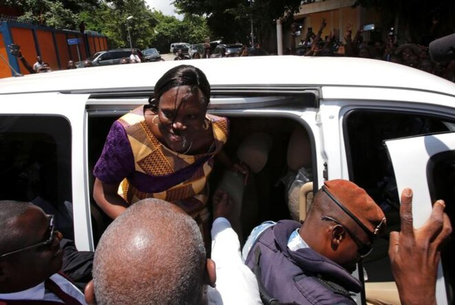 Condamnée en 2015 à 20 ans de prison, Simone Gbagbo a été libérée le 8 août. © Reuters
