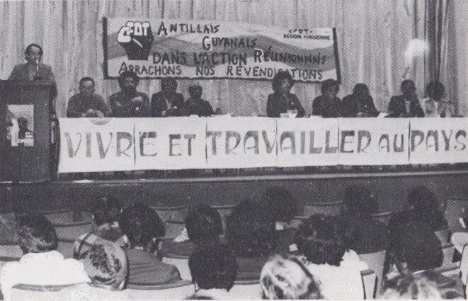 Meeting AGR -CFDT du 4 avril 1979 © Utopiques