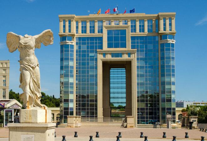 Hôtel de la région Languedoc-Roussillon à Montpellier