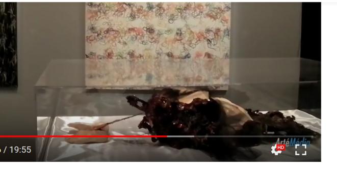 L. Muraywid_vue de profil de Doux cercueil de la chair_IMA 2011.PNG