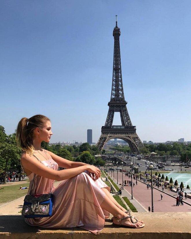 Maria Katasonova à Paris © Maria Katasonova